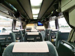 夜行バス 3列シート